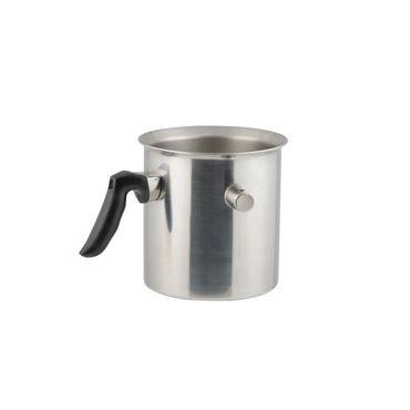 Edelstahl Simmertopf Milchtopf Wasserbadkocher doppelwandig 2 Liter