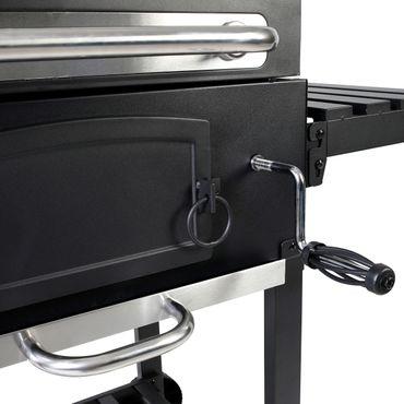 Grillwagen aus Stahl, 102x71x113,5 cm – Bild 11
