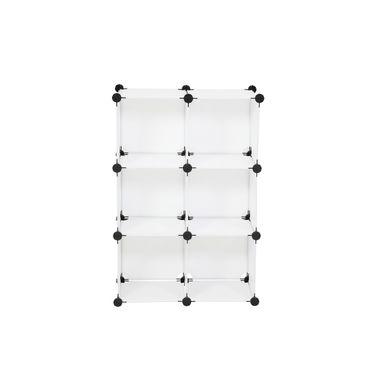 Steckregal, 6 Würfeln und Türen / Steckregal, 6 Würfeln / 6 Türen – Bild 3