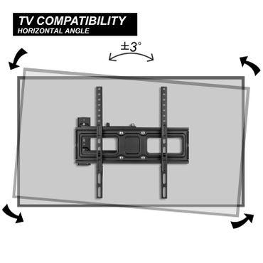 TV Wandhalterung 32 bis 55 Zoll – Bild 8