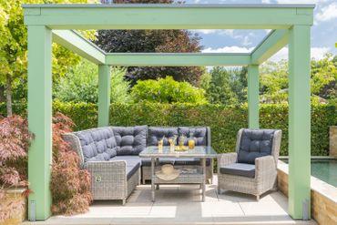 Gartenmöbel Polyrattan Lounge Rattan Gartenset Sitzgruppe Gartengarnitur Möbel – Bild 16