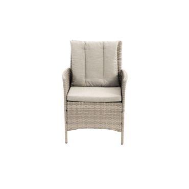 Lounge Set grau Sitzgruppe Sitzgarnitur Gartenmöbel Loungemöbel Gartenlounge  – Bild 11
