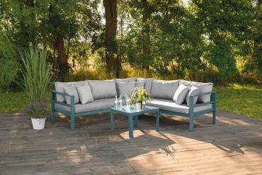 Lounge Set Gartenmöbel Sitzgruppe Loungemöbel Terassen Lounge Chillout Sitzecke – Bild 8
