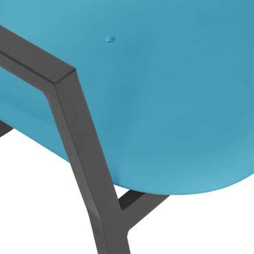 Loungestuhl Gartenstuhl Stuhl Lounge Sessel Möbel Schalenstuhl design stuhl – Bild 7