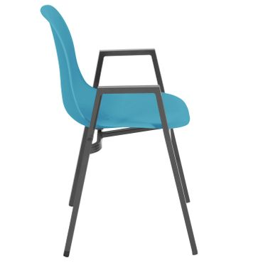 Loungestuhl Gartenstuhl Stuhl Lounge Sessel Möbel Schalenstuhl design stuhl – Bild 3