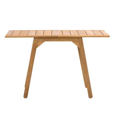 Ausklappbarer Tisch Gartentisch Esstisch Outdoortisch Terassentisch Holztisch – Bild 18