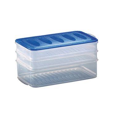 Aufschnittdosen- Set, versch. Größen  Frischhaltedose Frischhaltebox