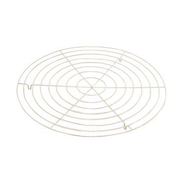 Drahteinlage weiß Ø 32cm Topfeinlage Einlage Topfuntersetzer Untersetzer – Bild 1