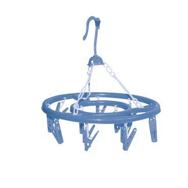 Wäschespinne blau Ø 27cm Wäscheständer Wäscheleine Wäschetrockner Wäscheschirm