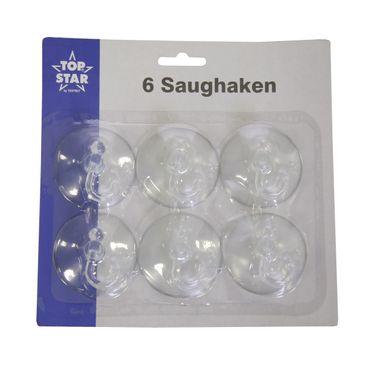 6 Saughaken 5,5 cm klar Schwenkhaken