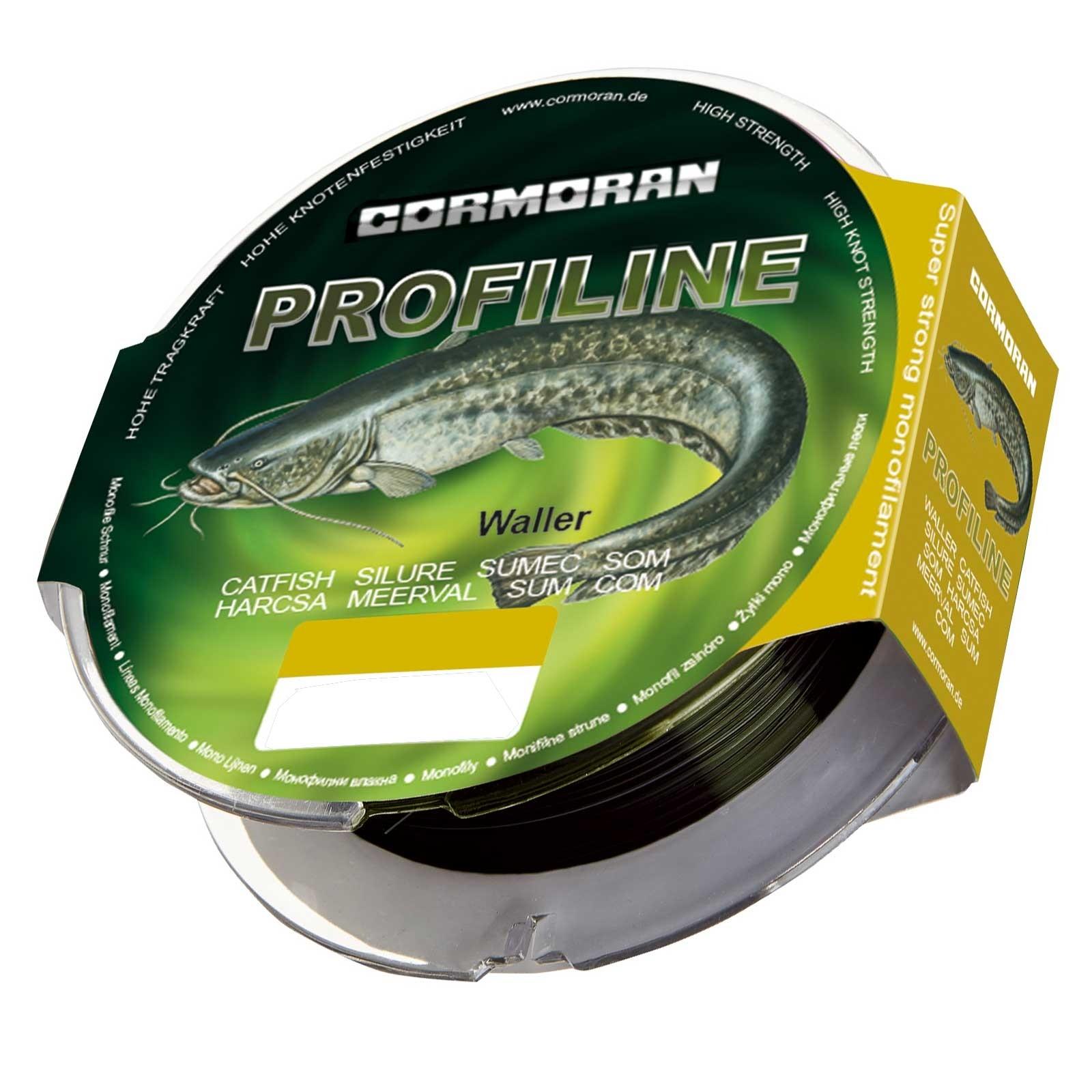Cormoran Profiline Waller 200m 0,50mm 17,5kg Schnur Monofil