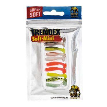 8,5cm Fladen Twister angeln Gummiköder Set Sortiment 8 Teile No.3