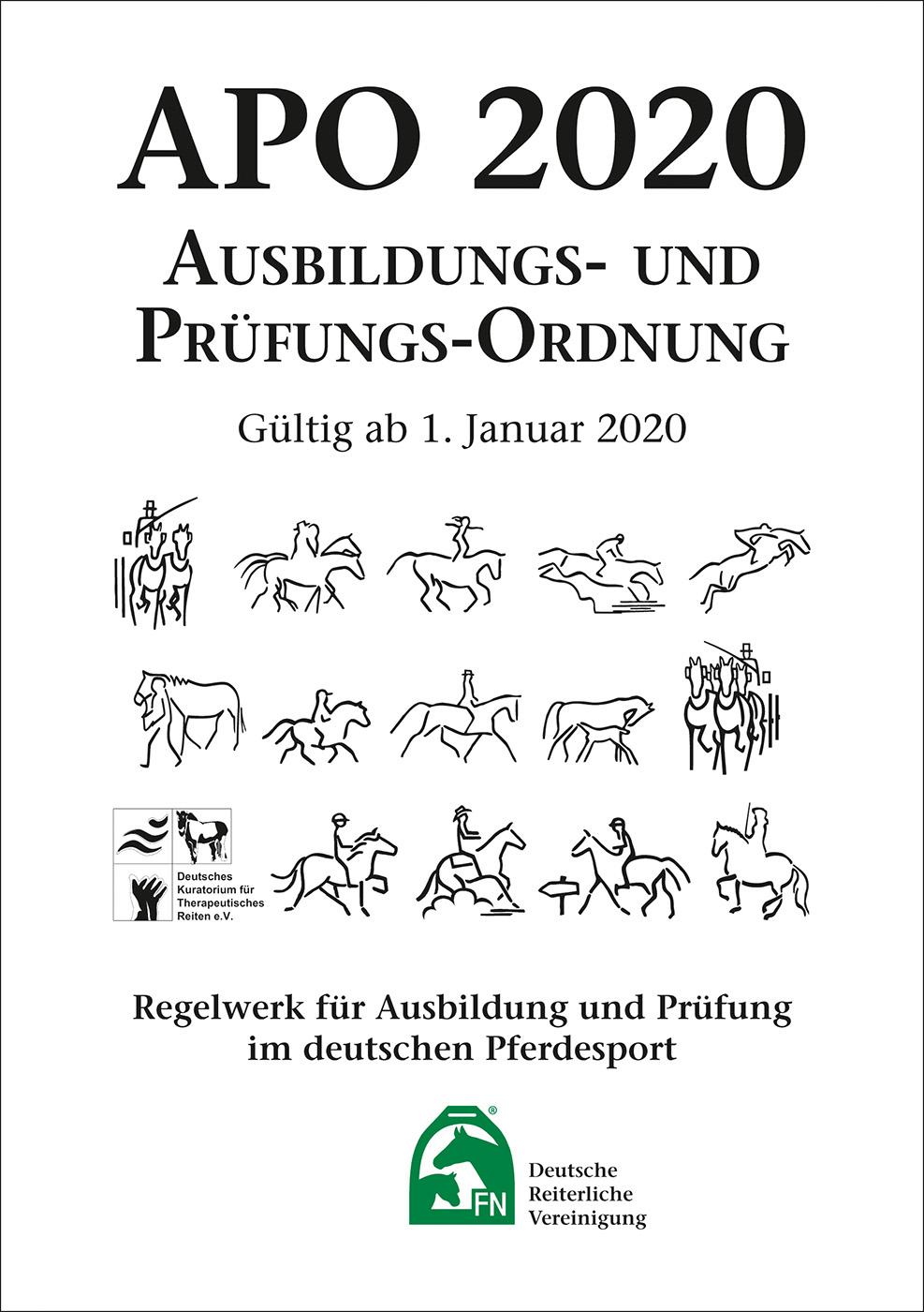 Busse Ausbildungs- und Prüfungs-Ordnung (APO) 2020  - Inhalt