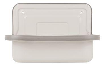 Stahl Ausgussbecken 50 cm glasiert, weiß – Bild 6