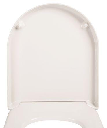 WC-Sitz Deluxe weiß mit Soft-Schließ-Komfort – Bild 5