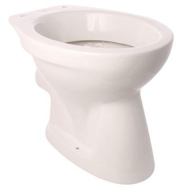 Gustavsberg Stand-WC Festival Weiß Tiefspüler Abgang Waagerecht Toilette Klo NEU – Bild 1