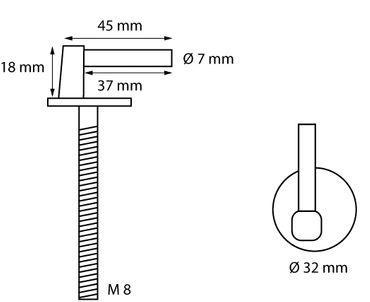 WC-Sitz Befestigung Nr. 10 – Bild 2