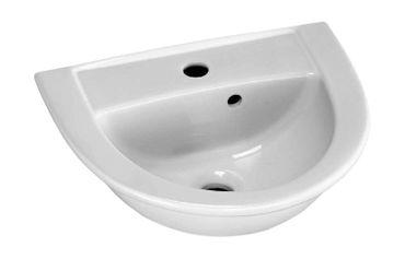 Handwaschbecken 45 - 47 cm, weiß – Bild 12