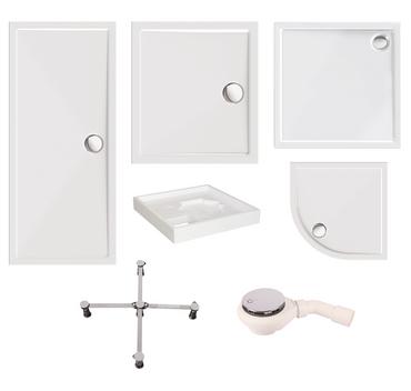 Verschiedene Duschwannen mit optionaler Ausstattung – Bild 1