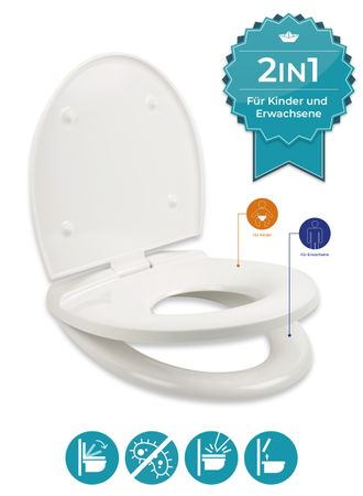 WC-Sitze Original O-Form, Original D-Form, Kinder – Bild 8