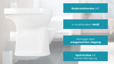 Spülrandlose Stand-WC's – Bild 17