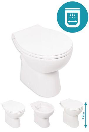 Spülrandlose Stand-WC's – Bild 1