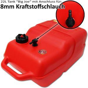 22 Liter Kraftstofftank Big Joe mit Füllstandsanzeige und großer Anschluss- und Zubehör-Auswahl – Bild 4