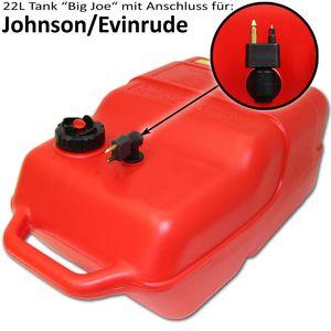 22 Liter Kraftstofftank Big Joe ohne Füllstandsanzeige und großer Anschluss-und Zubehör-Auswahl – Bild 6