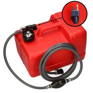 Kraftstofftank 11,3L mit Füllstandsanzeige und großer Anschluss-und Zubehör-Auswahl – Bild 8