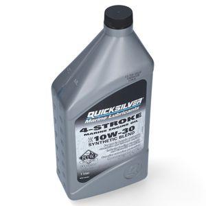 Quicksilver 10W30 Synthetik-Schiffsöl für Viertakt-Motoren