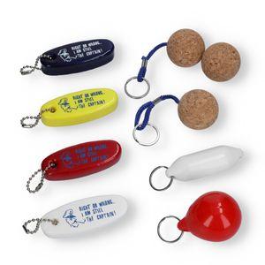 Schlüsselanhänger Bootsschlüsselanhänger schwimmend Ausführung nach Wahl – Bild 1