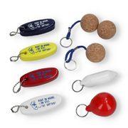 Schlüsselanhänger Bootsschlüsselanhänger schwimmend Ausführung nach Wahl