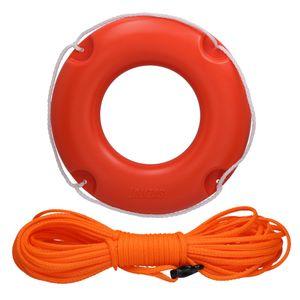 Kleiner Rettungsring No 45 mit/ohne 15/30m Sicherungsleine – Bild 1