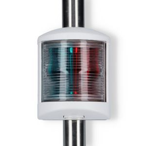 3 Farben Lichtmast 1,15 Meter weißes Gehäuse Wandbefestigung – Bild 3