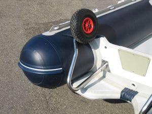 Slipräder, Heckräder f. Schlauchboot klapp- u. abnehmbar – Bild 2