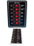 Schaltpaneel mit 6 Schalter