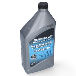 Quicksilver Performance 4-Takt Außenborder Öl 10 W-30 1L – Bild 1