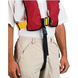 Schrittgurt für automatische Rettungsweste