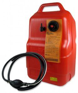 12 Liter Kraftstofftank Big Joe inkl. 2m Kraftstoff-Schlauch und Pumpball (Low Budget) – Bild 2