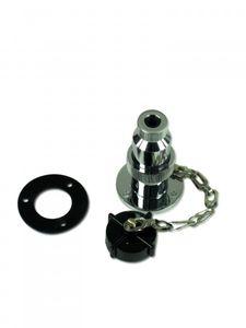 Wasserdichte Steckdose mit Stecker 3-polig – Bild 2