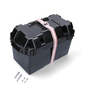 Batteriekasten 352 x 182 x 197 schwarz