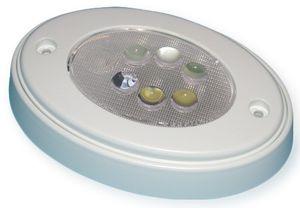Deckenleuchte oval 6 LEDs