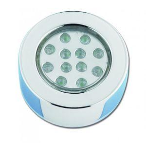 Deckenleuchte Edelstahl LED