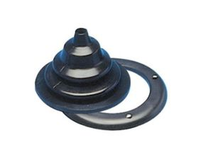 Kabeldurchlass schwarz 105/65mm