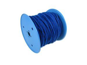2 Meter Polyesterleine San Diego 6 mm blau – Bild 2