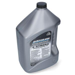 Quicksilver Premium Plus 2-Takt Außenborder Öl 4L – Bild 1