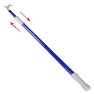 Teleskop - Bootshaken 120-200 cm blau – Bild 2