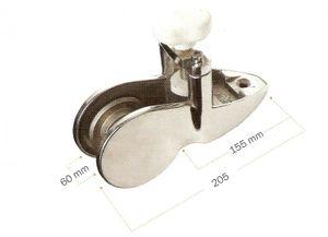Bugrolle Edelstahl L205 mm – Bild 2