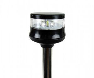 LED-Lichtmast GEMINI Edelstahl schwarz 100cm 360° – Bild 2