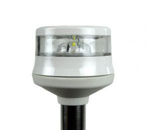 LED-Lichtmast GEMINI Edelstahl weiß 100cm 360° – Bild 2